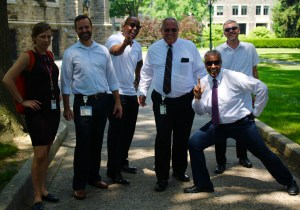Fordham IT staff