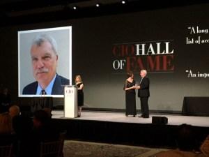 CIO Hall of Fame Award ceremony