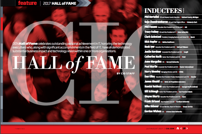 2017 CIO Hall of Fame Indcutees