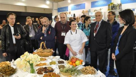 """Η Κυκλαδίτικη γαστρονομία """"κέρδισε"""" τη HORECA"""