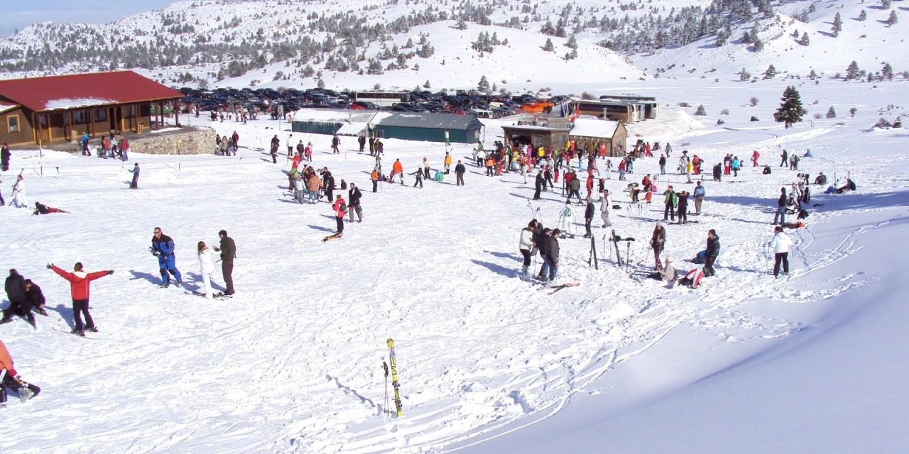 Επάρκεια…χιονιού μέχρι το Πάσχα