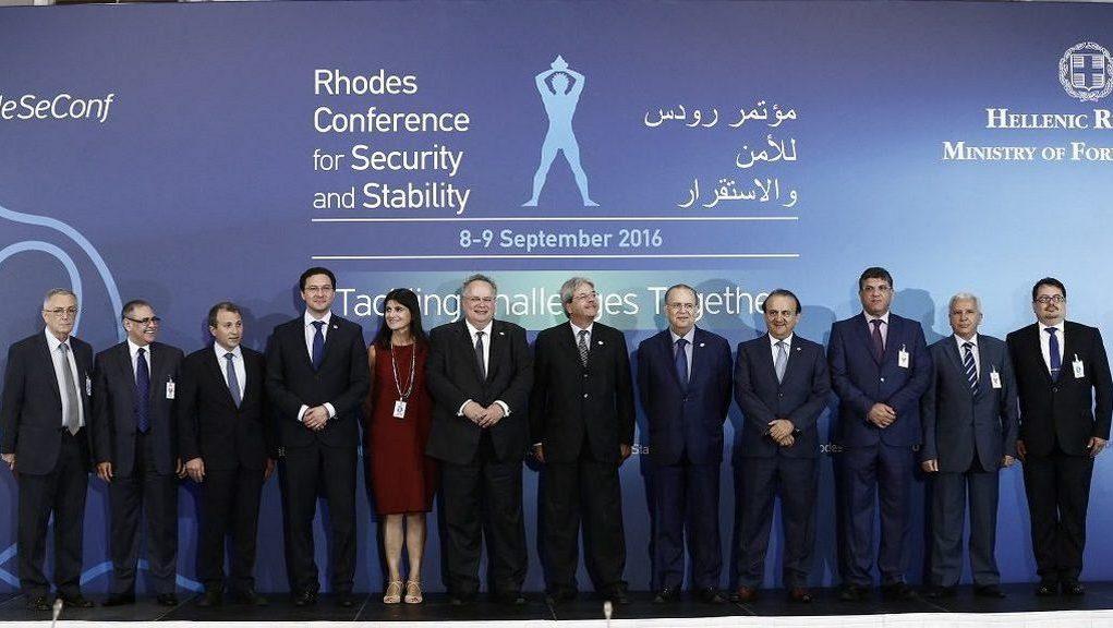 Ρόδος: Διάσκεψη υπουργών Εξωτερικών της Μεσογείου