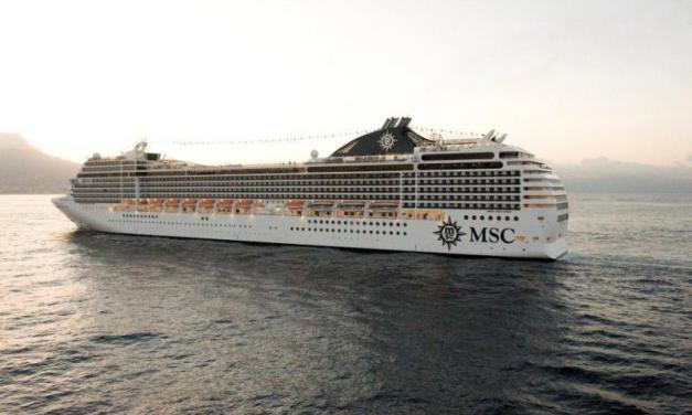 Το MSC POESIA από Πειραιά