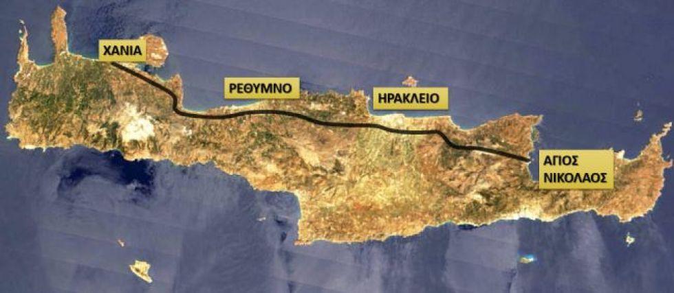 Εργα υποδομής στην Κρήτη