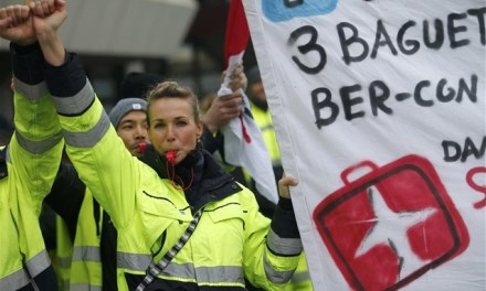 Αυξήσεις για τους Γερμανούς απεργούς των αεροδρομίων