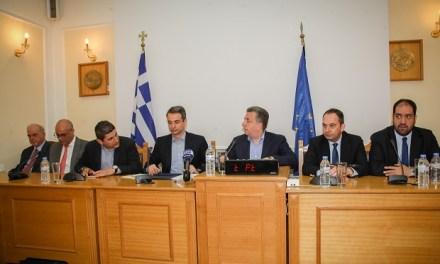 Κυριάκος Μητσοτάκης από Κρήτη: Προτεραιότητα ΒΟΑΚ και αεροδρόμιο Ηρακλείου