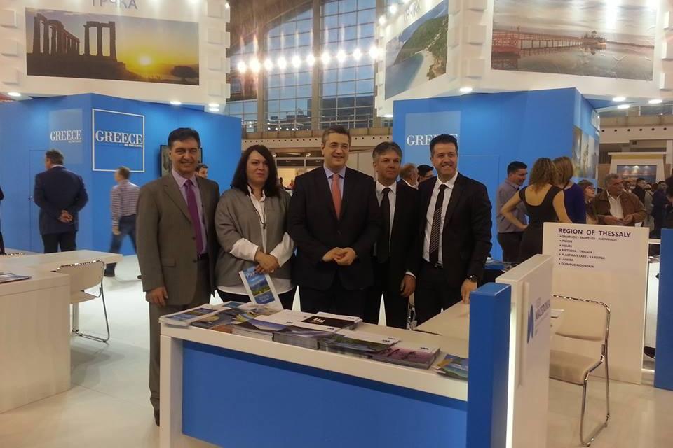 Δυναμική η παρουσία της Περιφέρειας Μακεδονίας στην ΙΤΤFA