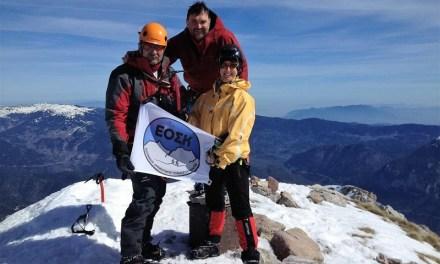 Στην κορυφή «Κόρακας» ο ορειβατικός της Καρδίτσας