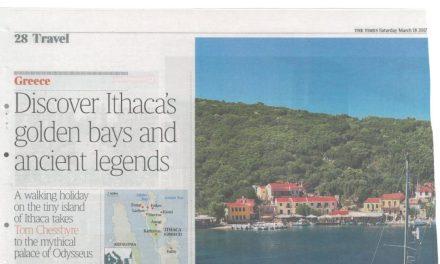Ιθάκη και Κεφαλονιά σε αφιέρωμα της Βρετανικής «Times»