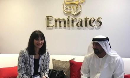 Στην Έκθεση ΑΤΜ στο Ντουμπάι η Ελενα Κουντουρά