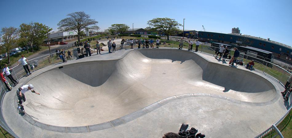 Εγκαίνια στο Skate Park στο Βόλο