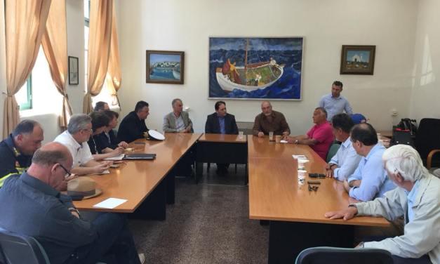 Ερμιόνη- Κοιλάδα- Πόρτο Χέλι Ο Γενικός Γραμματέας Λιμένων Χρήστος Λαμπρίδης επισκέφθηκε και επιθεώρησε την Παρασκευή 27 Απριλίου, τα τρία λιμάνια