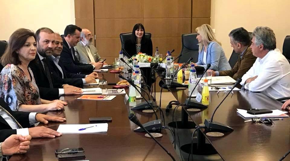 Σε Αλεξανδρούπολη και Καβάλα η Υπουργός Τουρισμού  Έλενα Κουντουρά
