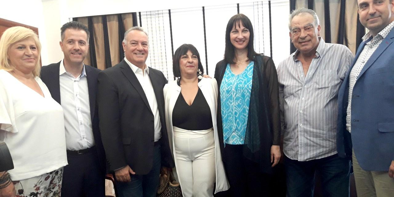 Ευρεία σύσκεψη της Υπουργού Τουρισμού Έλενας Κουντουρά με τις τοπικές αρχές και φορείς της Χαλκιδικής