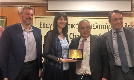 Η αλματώδης άνοδος του τουρισμού ωθεί στην ανάπτυξη και άλλους παραγωγικούς κλάδους, δημιουργεί νέα οφέλη στις μικρομεσαίες επιχειρήσεις και τους επαγγελματίες – Ομιλία της Υπουργού Τουρισμού Έλενας Κουντουρά στο Δ.Σ. του Επαγγελματικού Επιμελητηρίου Αθηνών