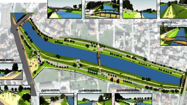 Γραμμικό πάρκο αναψυχής θα γίνει η παραποτάμια περιοχή του Πηνειού