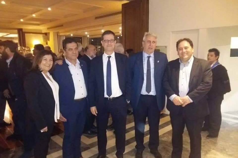ΚΟΠΗ ΠΙΤΑΣ  ΣΙΤΕΣΑΠ Ναυτικός Όμιλος Ελλάδος 30/1/2019