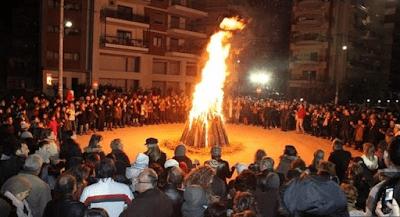 ΓΙΑΝΝΕΝΑ: Το έθιμο της Τζαμάλας και οι εβδομήντα φωτιές