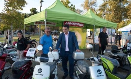 Τέσσερις χιλιάδες επισκέπτες στη μεγάλη γιορτή της ηλεκτροκίνησης «Voltάρω 3» που διοργάνωσε η Περιφέρεια Κεντρικής Μακεδονίας στην παραλία Θεσσαλονίκης