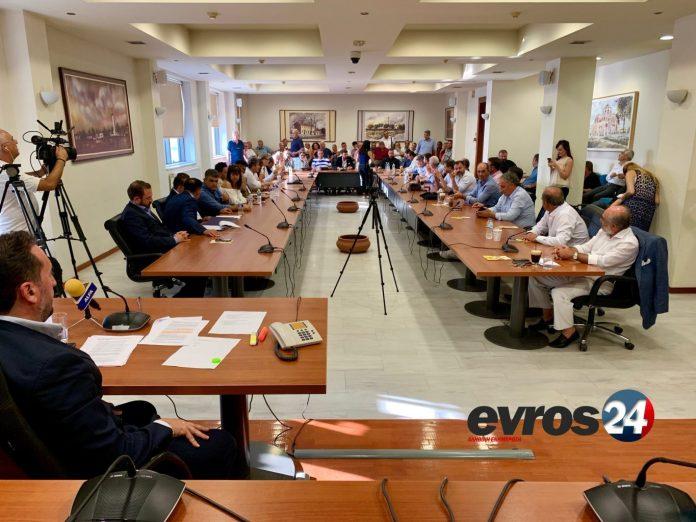 """Ομόφωνο """"ΟΧΙ"""" με ψήφισμα του Δημοτικού Συμβουλίου Αλεξανδρούπολης κατά της εξόρυξης χρυσού στο Πέραμα"""