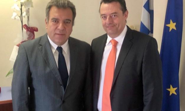 «Συνάντηση Υφυπουργού Τουρισμού με τον διοικητή της 2ης ΥΠΕ, κ. Χρήστο Ροϊλό»