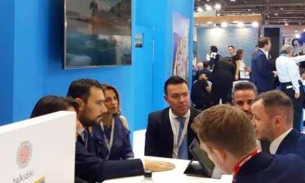 """Αισιόδοξα μηνύματα για την επόμενη τουριστική περίοδο από τη Μεγάλη Βρετανία – H Περιφέρεια Κεντρικής Μακεδονίας  στη Διεθνή Έκθεση Τουρισμού """"World Travel Market""""  στο Λονδίνο"""