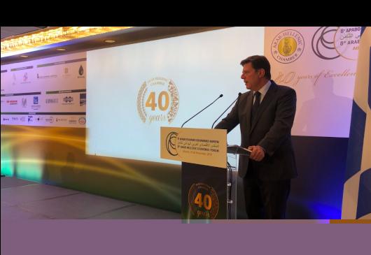 Ομιλία του Αναπληρωτή Υπουργού Εξωτερικών, Μιλτιάδη Βαρβιτσιώτη, στο 8ο Αραβο-Ελληνικό Οικονομικό Φόρουμ