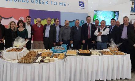 Το Φεστιβάλ Γαστρονομίας και Τοπικών Προϊόντων η 6 Γιορτή Πορτοκαλιού, Μανιταριού, Ακτινιδίου και Ελιάς της Άρτας «απογειώθηκε» στο Διεθνές Αεροδρόμιο «Ελεύθεριος Βενιζέλος».
