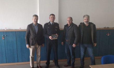 Δωρεά στην Ελληνική Αστυνομία από την Ένωση Ξενοδόχων Χανίων