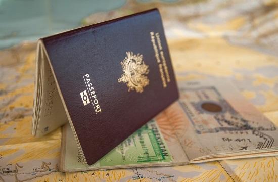 Στην 8η θέση των ισχυρότερων διαβατηρίων στον κόσμο το Ελληνικό