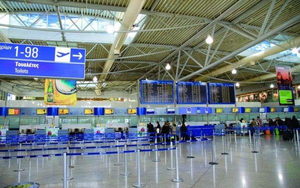 Ελ. Βενιζέλος : Μειωμένη κατά 58,2% η επιβατική κίνηση τον Ιούνιο