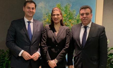 Συνάντηση ηγεσίας Υπουργείου Τουρισμού και Υφυπουργείου Ναυτιλίας Κύπρου για τη θαλάσσια σύνδεση μεταξύ των δύο χωρών