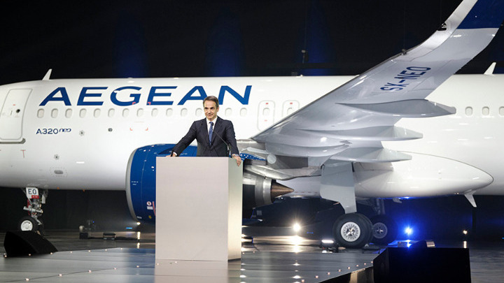 «Kάθε νέο αεροσκάφος ισοδυναμεί με 70 επιπλέον θέσεις εργασίας, 100.000 επισκέπτες και 80 εκατ. άμεσα έσοδα στον τουρισμό» ανέφερε ο Κυριάκος Μητσοτάκης