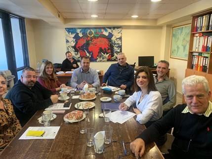 Συνάντηση με σωματείο εργαζομένων του ΕΟΤ