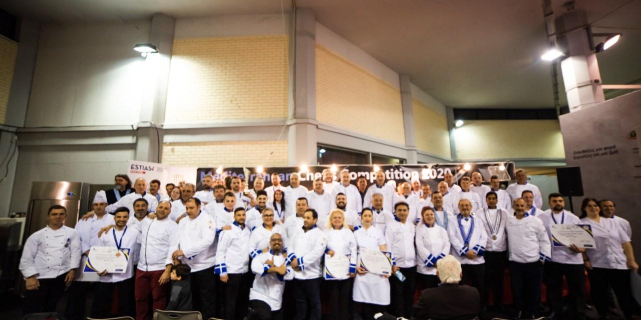 Οι νικητές του 1st Mediterranean Chef's Competition 2020