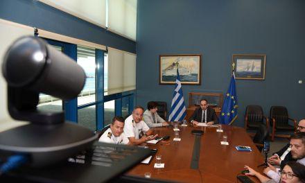 Συνέντευξη Τύπου Γ. Πλακιωτάκη: σε τελική ευθεία το Εθνικό Σύστημα Ολοκληρωμένης Θαλάσσιας Επιτήρησης (ΕΣΟΘΕ)