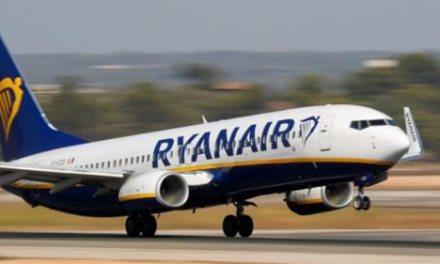 """Αναγκαστική προσγείωση αεροπλάνου της Ryanair στο αεροδρόμιο """"Μακεδονία"""""""