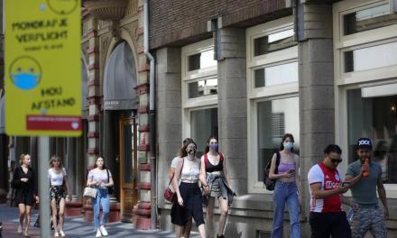 Τέλος η υποχρεωτική χρήση μάσκας στο Άμστερνταμ