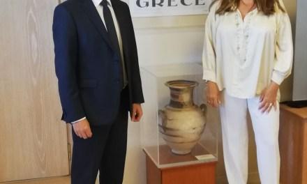 Οι ψηφιακές δυνατότητες στην υπηρεσία του ΕΟΤ και του ελληνικού τουρισμού – Συνάντηση της Πρόεδρου ΕΟΤ, Ά. Γκερέκου, με τον ΓΓ Ψηφιακής Διακυβέρνησης  και Απλούστευσης Διαδικασιών, Λ. Χριστόπουλο