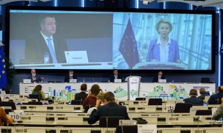 Η Πρόεδρος της Κομισιόν Ursula von der Leyen στη σύνοδο της Ολομέλειας της Ευρωπαϊκής Επιτροπής των Περιφερειών