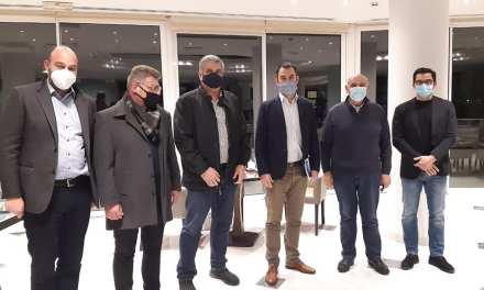 ΑΛΕΞΗΣ ΧΑΡΙΤΣΗΣ: Συνάντηση με το Δ.Σ και μέλη της Ένωσης Ξενοδόχων  Μεσσηνίας
