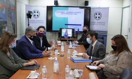 Συνάντηση Πατούλη – Γιατρομανωλάκη για την ενίσχυση της πολιτιστικής ταυτότητας της Αττικής