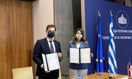 Κοινή δήλωση Θεοχάρη με την υπουργό Τουρισμού της Σερβίας για την ελαχιστοποίηση των συνεπειών της πανδημίας στον Τουρισμό