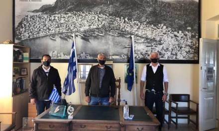 Ο Δήμος Μεγίστης παρέδωσε το κλειδί του «σπιτιού» της Ένωσης Ναυτικών Πρακτόρων Ελληνικών Νήσων