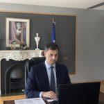 Στη Γερμανία ο Υπουργός Τουρισμού κ. Χάρης Θεοχάρης