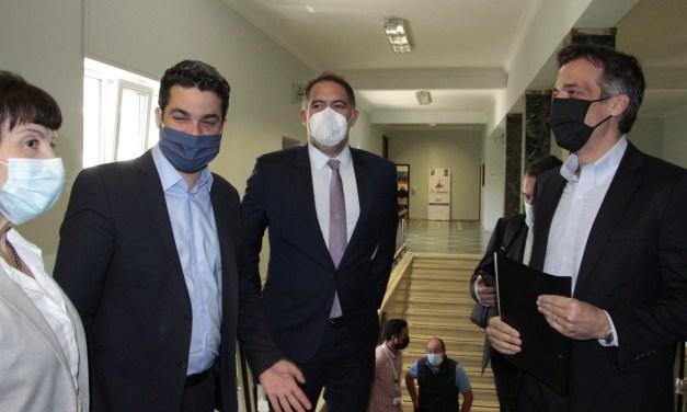 Περιοδεία στην Κρήτη για τον πρόεδρο του Ξενοδοχειακού Επιμελητηρίου Ελλάδος και τον πρόεδρο του ΕΟΔΥ.