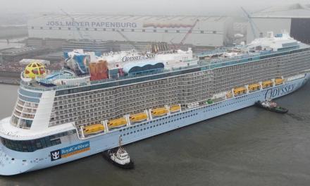 Διακόπτει η Royal Caribbean τη σεζόν κρουαζιέρας για το Odyssey of the Seas από το Ισραήλ προς τα ελληνικά νησιά