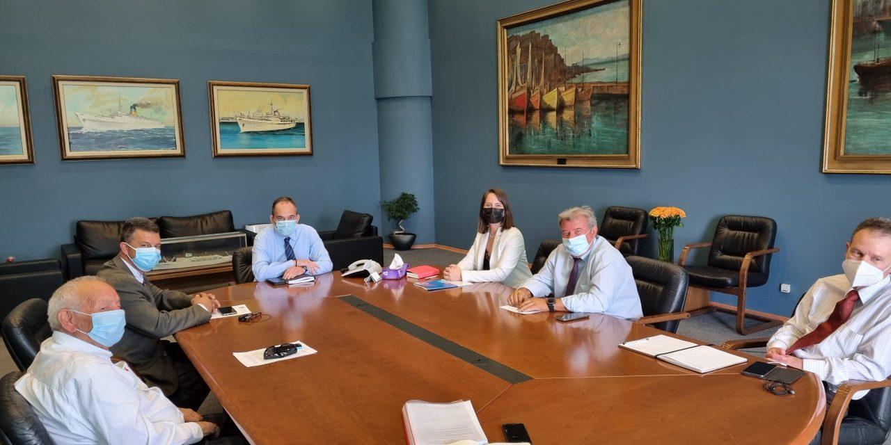 Συνάντηση του ΔΣ του ΣΙΤΕΣΑΠ με τον Υπ. Ναυτιλίας κ. Γιάννη Πλακιωτάκη