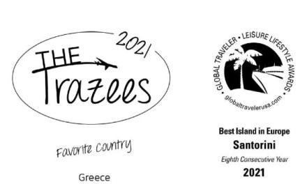 Ελλάδα – Σαντορίνη : Μεγάλες νικήτριες στα αμερικανικά τουριστικά βραβεία FXExpress 2021 Awards