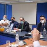 Συνάντηση Υπουργού Ναυτιλίας Γ. Πλακιωτάκη με τη νέα ηγεσία της Πανελλήνιας Ναυτικής Ομοσπονδία